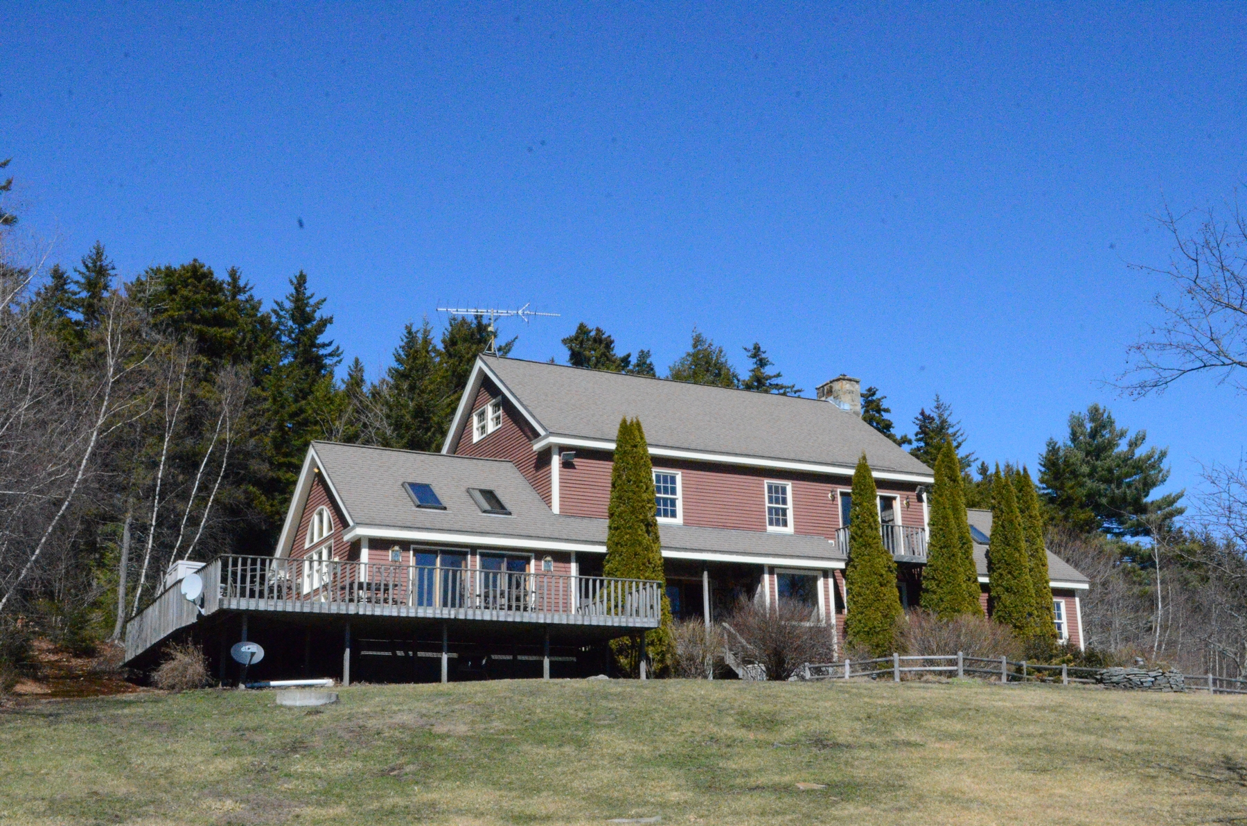 Moradia para Venda às Distinguished Country Estate 845 Hall Halifax, Vermont, 05358 Estados Unidos