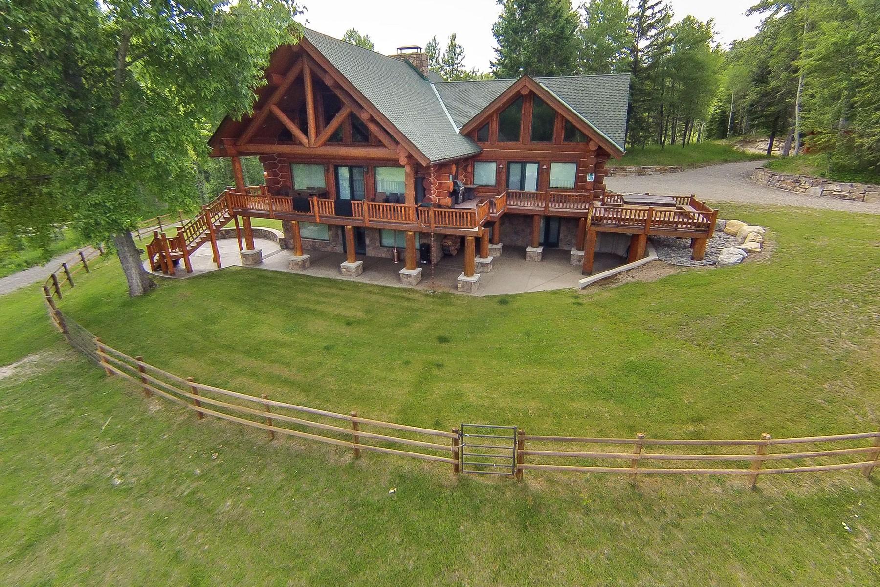 Casa para uma família para Venda às Ten Lakes Eureka, Montana, 59917 Estados Unidos