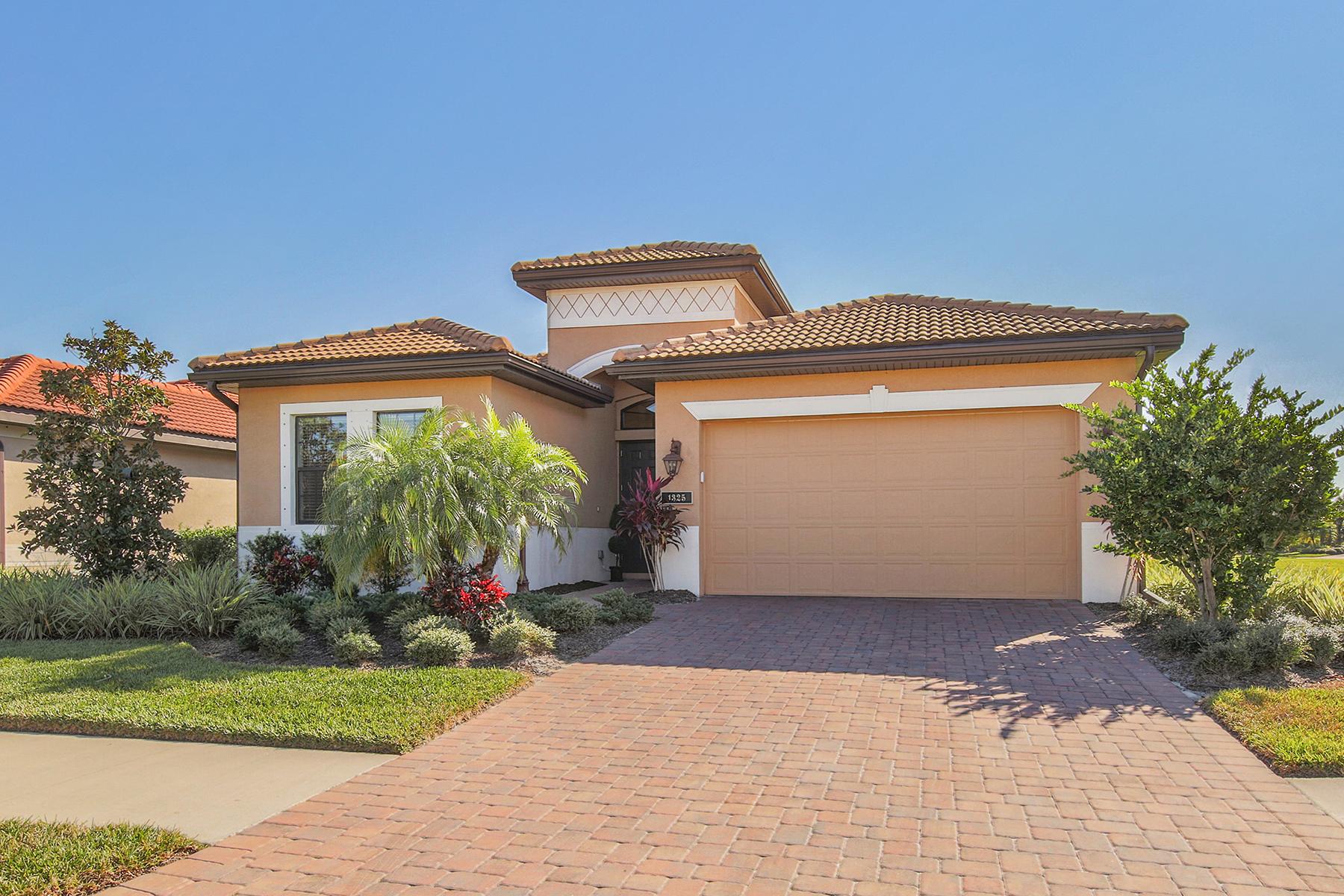 Maison unifamiliale pour l Vente à WILLOW CHASE 1325 Cielo Ct North Venice, Florida, 34275 États-Unis