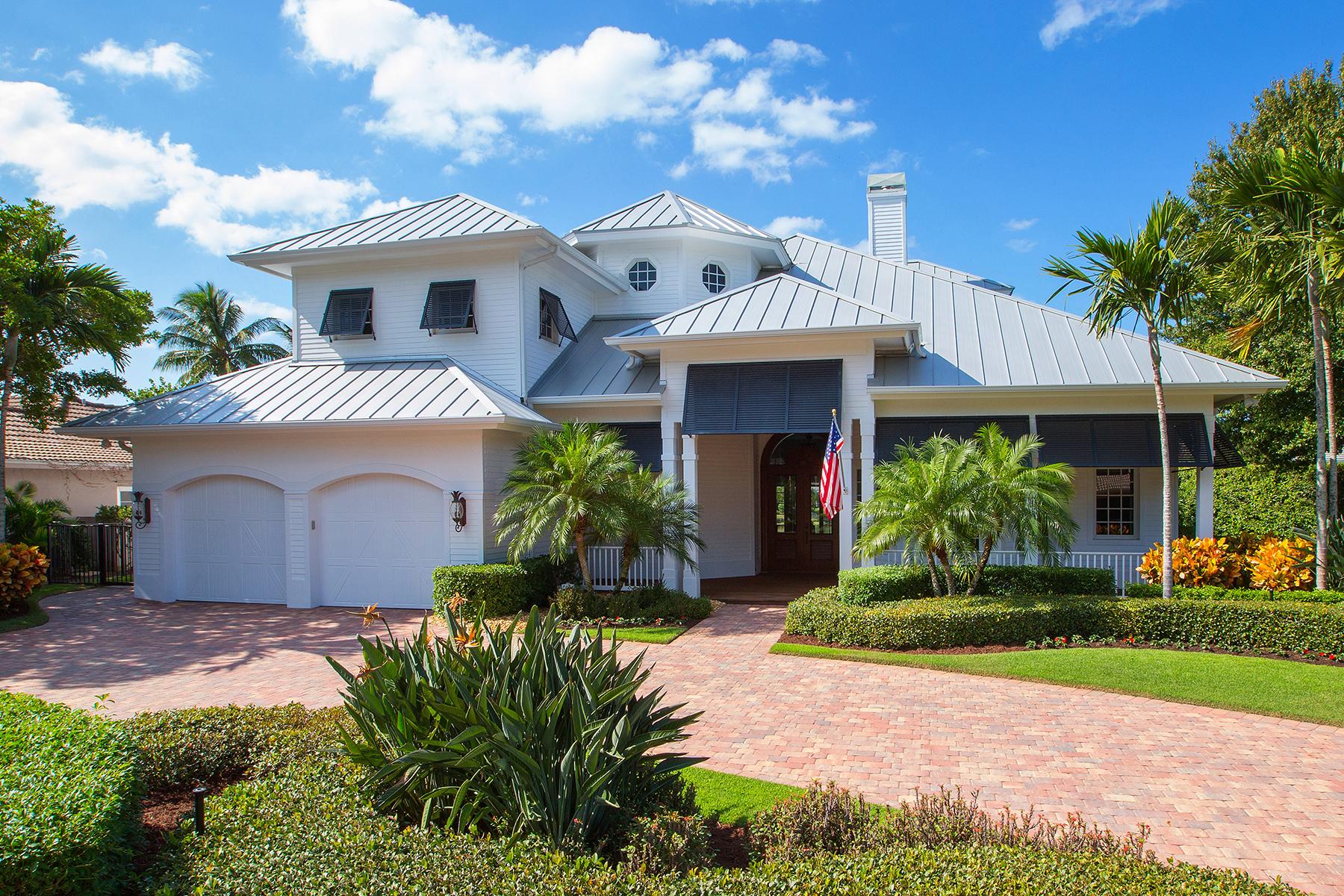 一戸建て のために 売買 アット PARK SHORE 4745 Whispering Pine Way Naples, フロリダ, 34103 アメリカ合衆国
