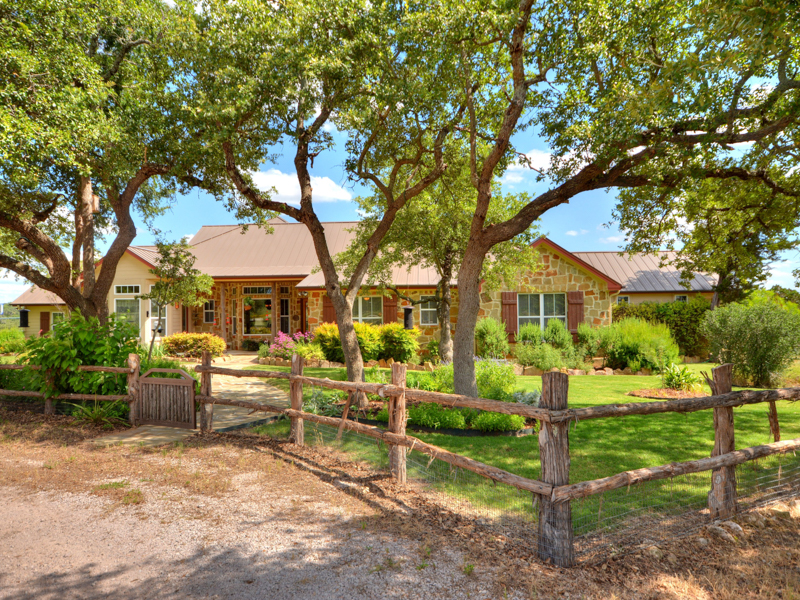 Single Family Home for Sale at Uniquely Designed Texas Ranch 3401 Wolf Creek Ranch Rd Burnet, Texas 78611 United States