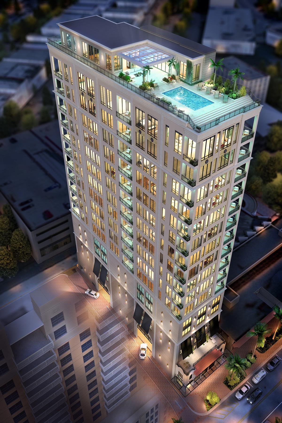 共管式独立产权公寓 为 销售 在 DEMARCAY 33 S Palm Ave 702 Sarasota, 佛罗里达州 34236 美国