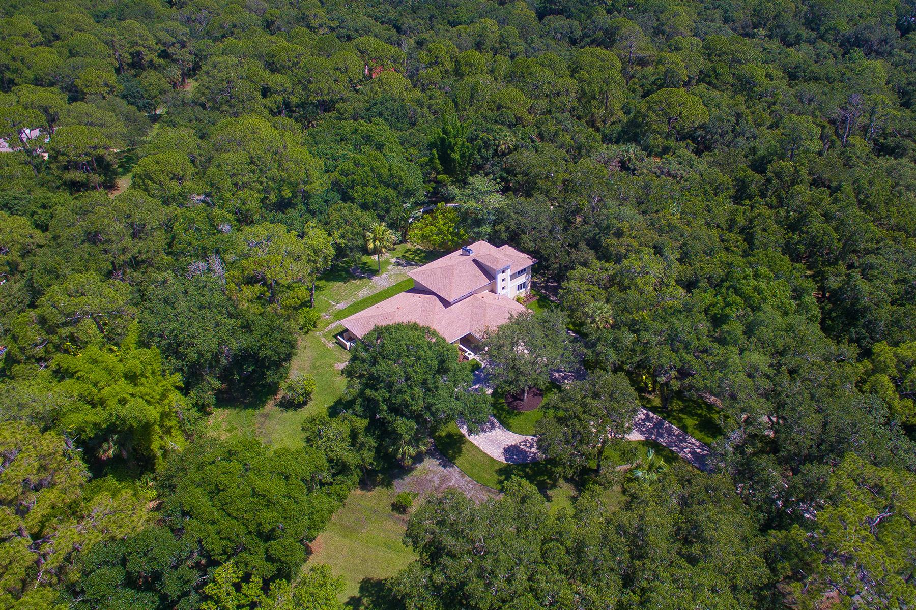 Частный односемейный дом для того Продажа на BLOOMING GROVE ESTATES 3600 Azalea Ln Sarasota, Флорида, 34240 Соединенные Штаты