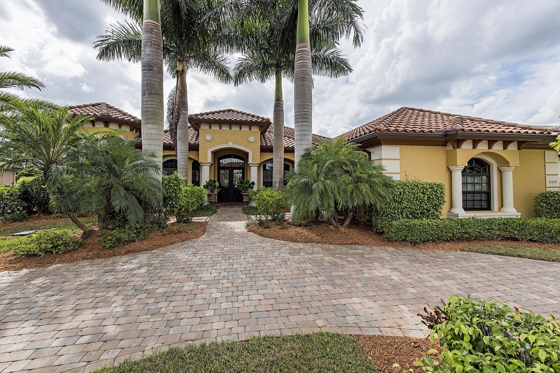 단독 가정 주택 용 매매 에 LELY RESORT - CLASSICS PLANTATION ESTATES 7317 Hagen Way Naples, 플로리다 34113 미국
