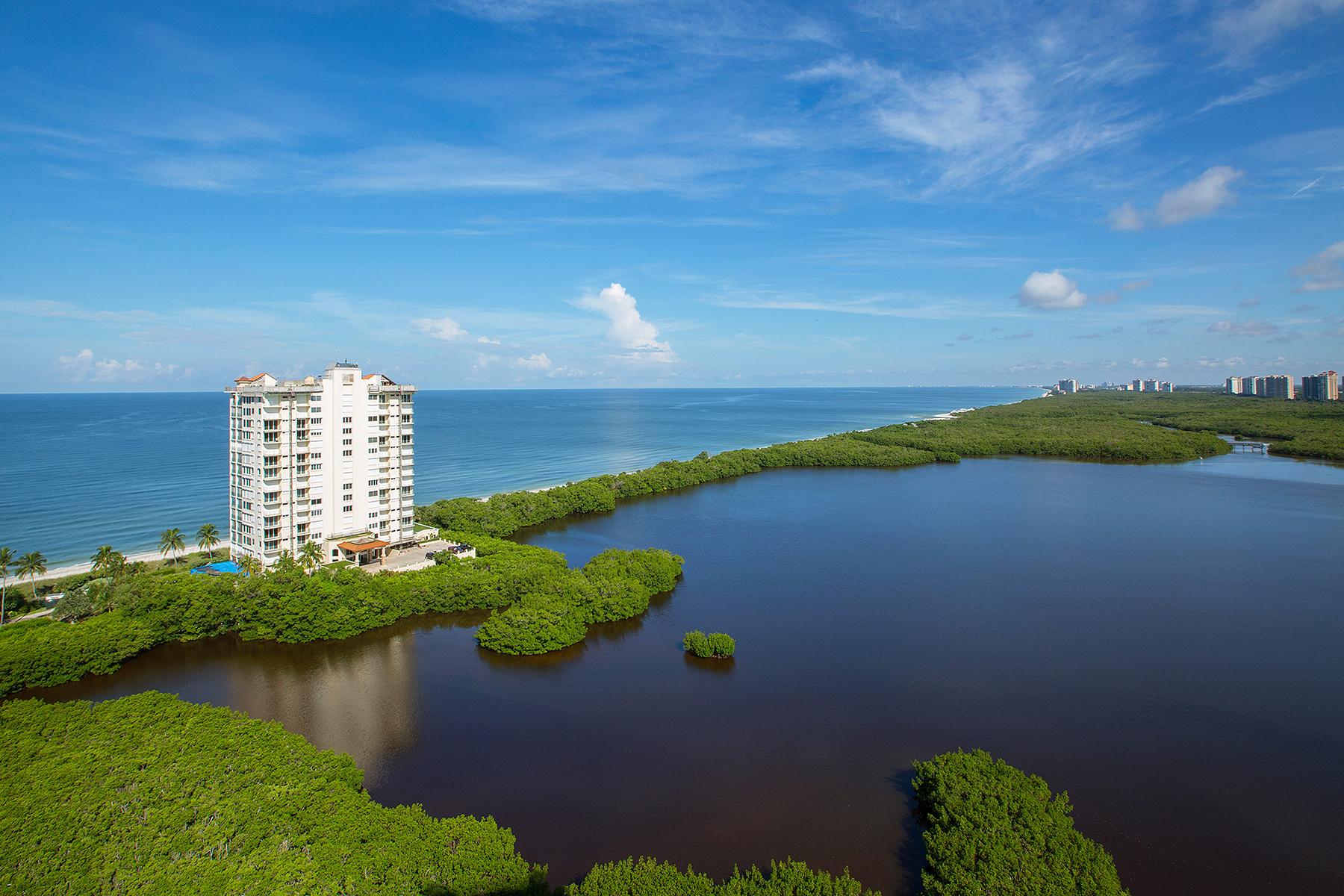 Condomínio para Venda às NAPLES CAY - BAYPOINTE 60 Seagate Dr PH103 Naples, Florida, 34103 Estados Unidos