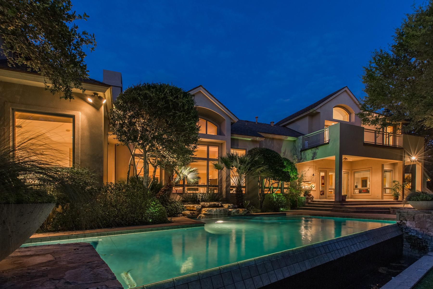 Single Family Home for Rent at Unique and Upscale Dominion Rental 32 Eton Green Cir San Antonio, Texas 78257 United States
