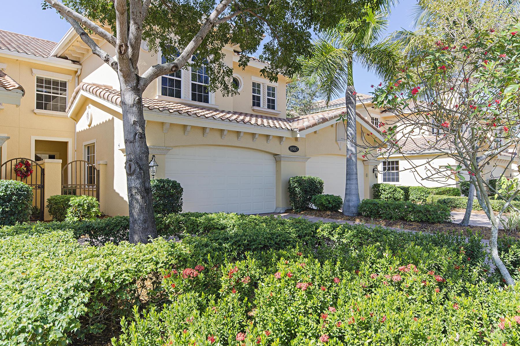Nhà chung cư vì Bán tại FIDDLER'S CREEK - CHERRY OAKS 8987 Cherry Oaks Trl 102 Naples, Florida 34114 Hoa Kỳ