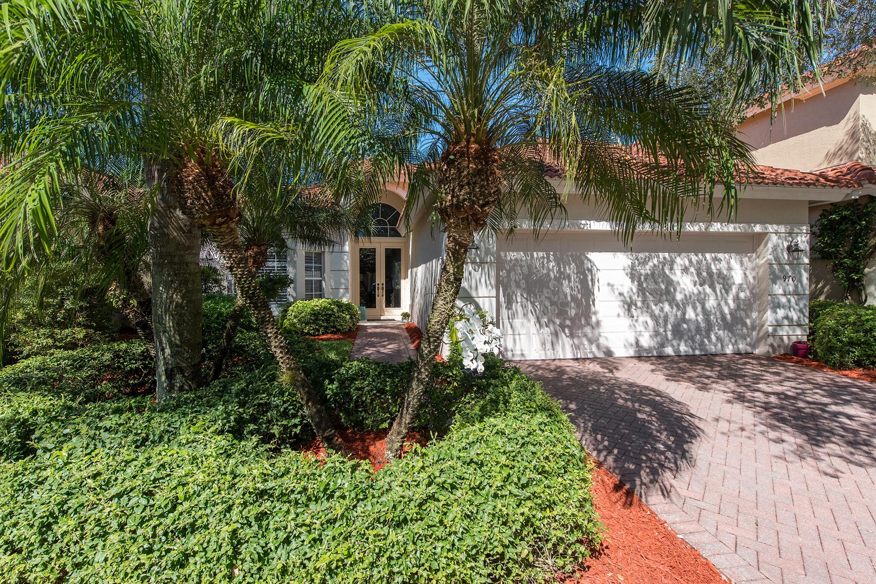 独户住宅 为 销售 在 VINEYARDS - FOUNTAINHEAD 970 Fountain 那不勒斯, 佛罗里达州, 34119 美国
