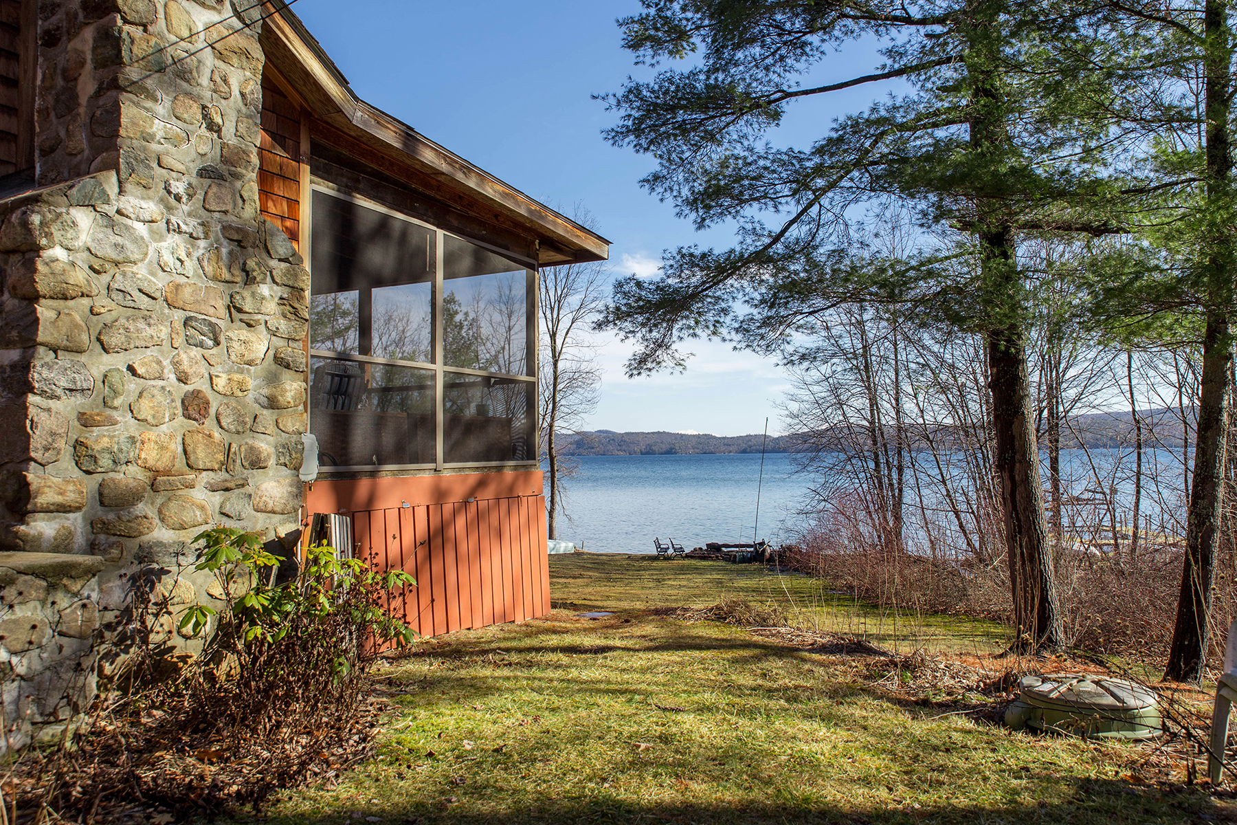 Additional photo for property listing at Adirondack Cottage on Serene Shores of Lake George 19  Pine Cove Rd Hague, New York 12836 United States