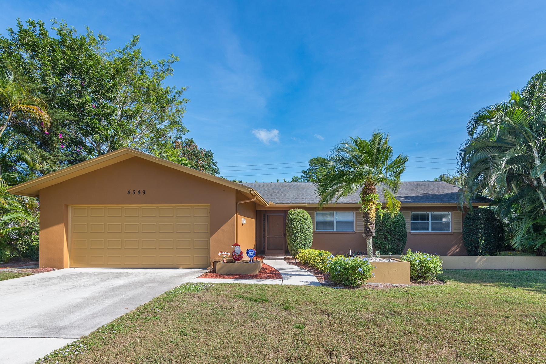 Single Family Home for Sale at NAPLES - LAKEWOOD 4549 Lakewood Blvd Naples, Florida 34112 United States