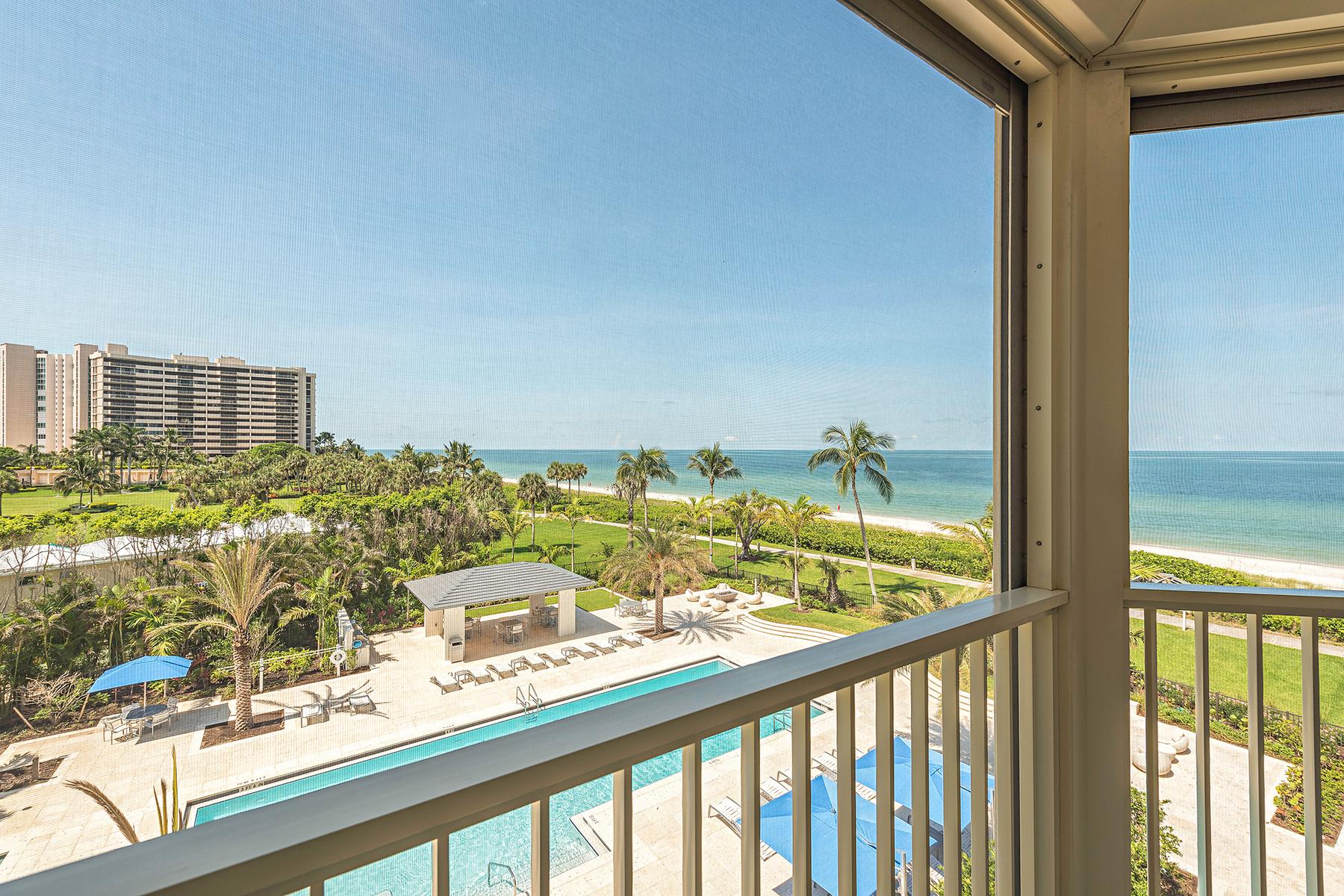 Condominium for Sale at PARK SHORE - LA MER 4051 Gulf Shore Blvd N 405 Naples, Florida, 34103 United States
