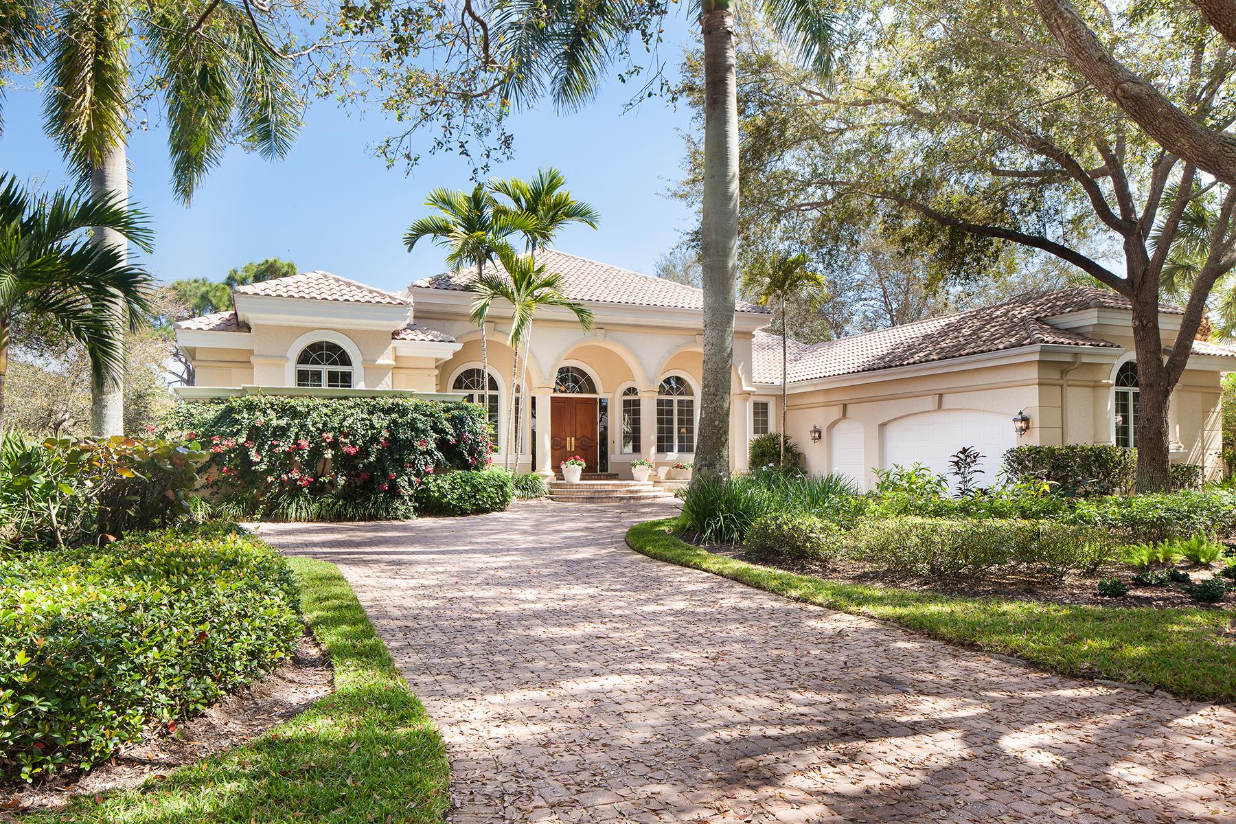 Casa para uma família para Venda às COLLIERS RESERVE 1005 Barcarmil Way Naples, Florida 34110 Estados Unidos
