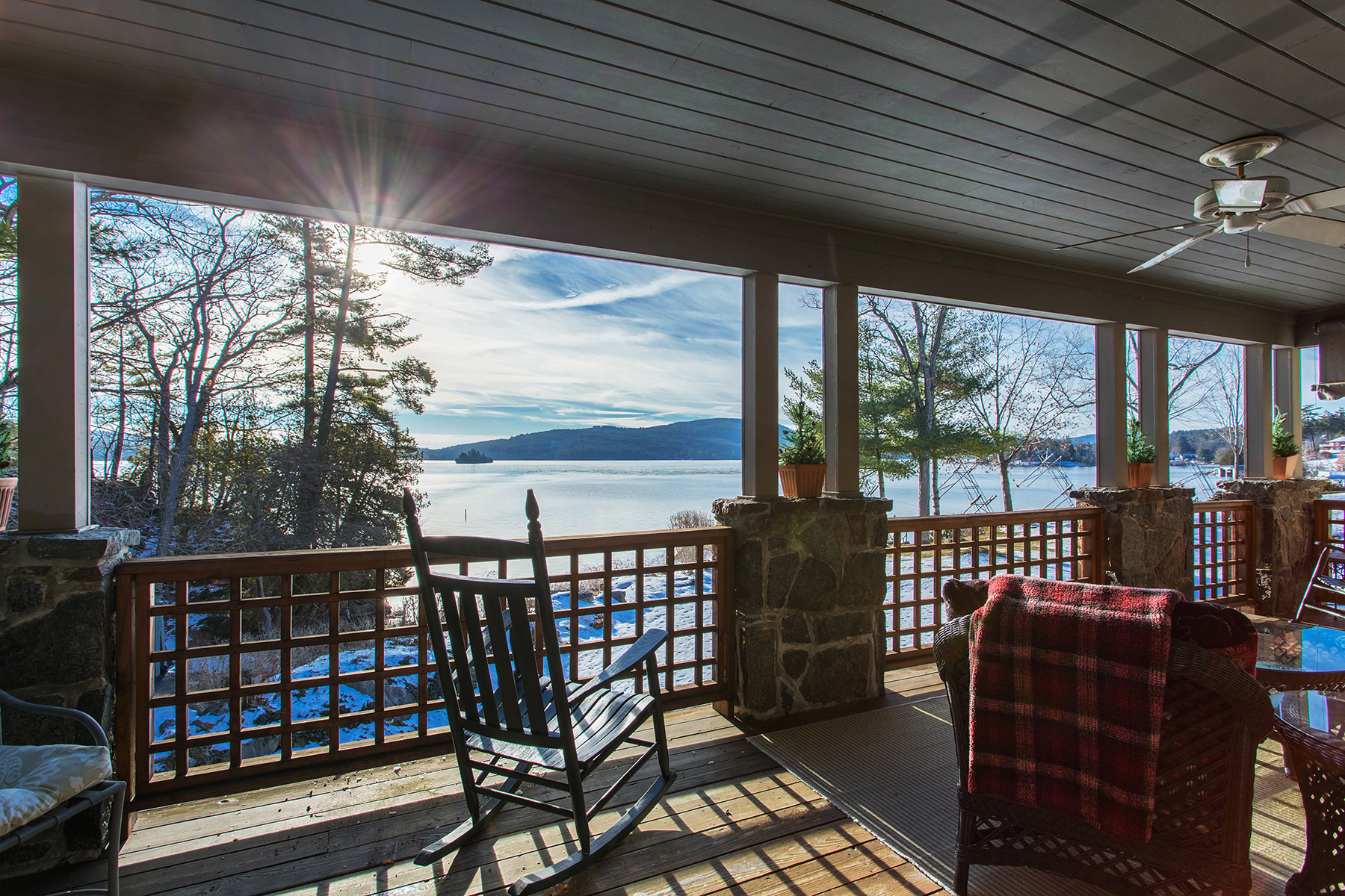Townhouse for Sale at End-Unit Lake George Condo in The Antlers 84 Antlers Rd Lake George, New York 12845 United States