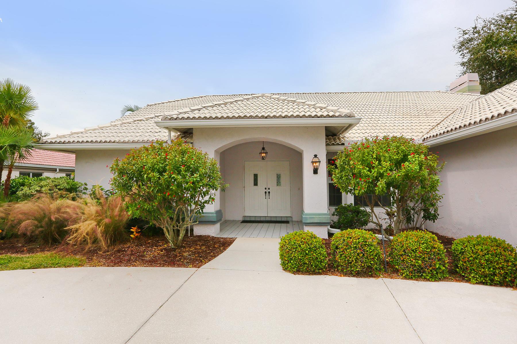 Maison unifamiliale pour l Vente à SOUTHBAY YACHT & RACQUET CLUB 1450 Landview Ln Osprey, Florida 34229 États-Unis