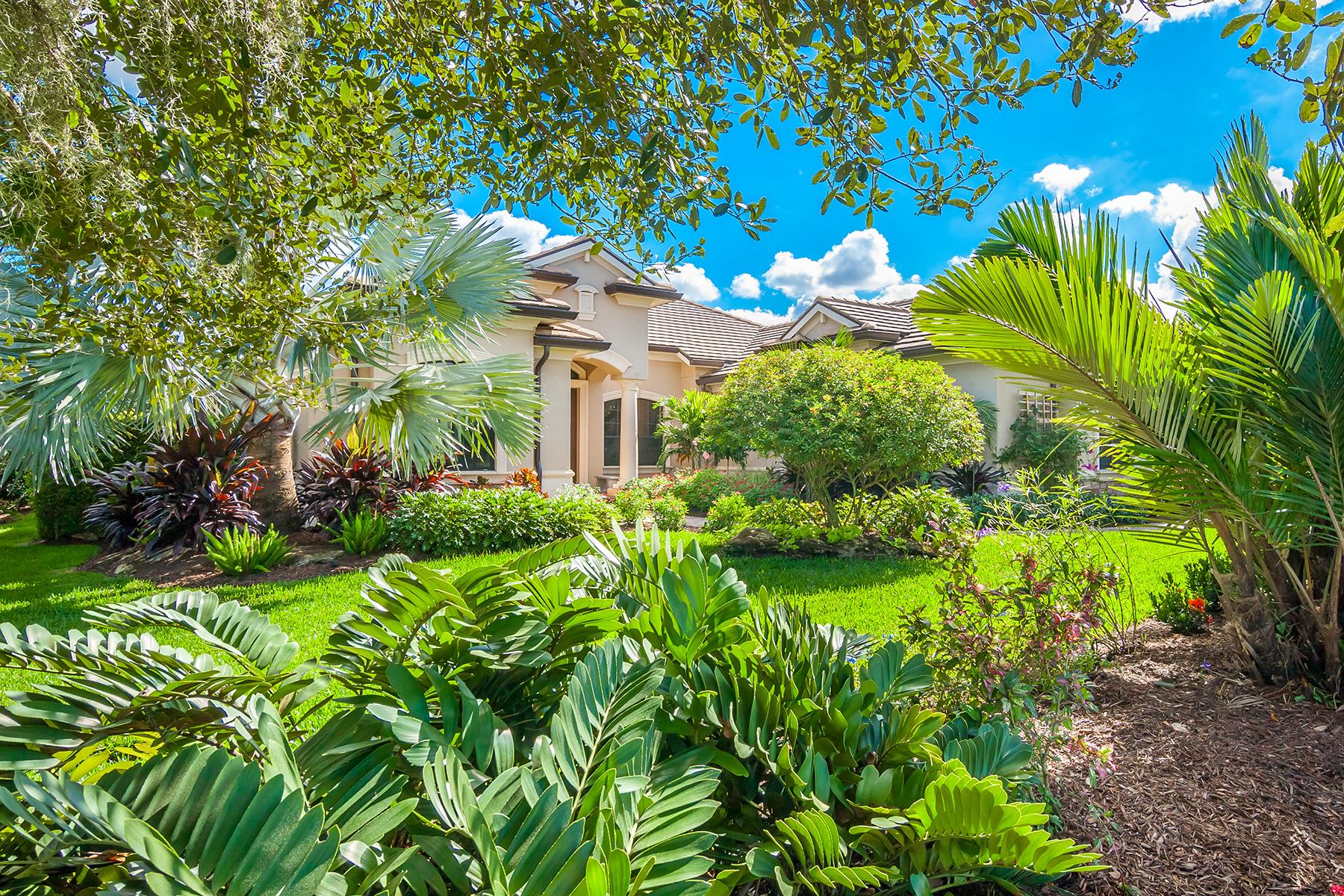 独户住宅 为 销售 在 FOUNDERS CLUB 3426 Founders Club Dr 萨拉索塔, 佛罗里达州 34240 美国