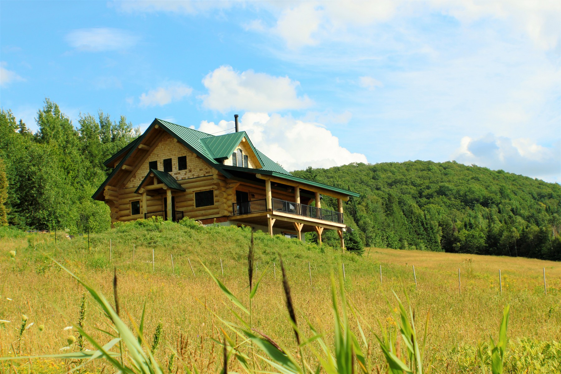 Casa Unifamiliar por un Venta en 1800 Dexter Mt. Road, Glover 1800 Dexter Mt. Rd Glover, Vermont 05839 Estados Unidos
