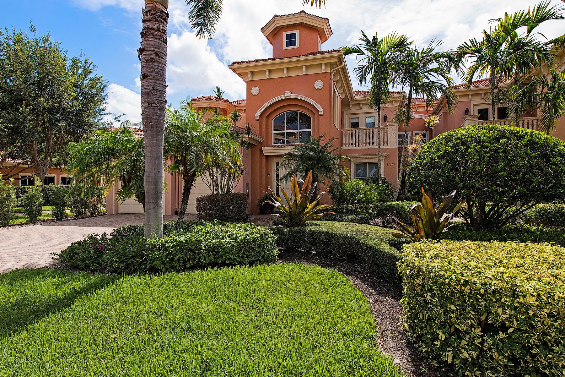 Condomínio para Venda às VINEYARDS - AVELLINO ISLES 537 Avellino Isles Cir 31201 Naples, Florida, 34119 Estados Unidos