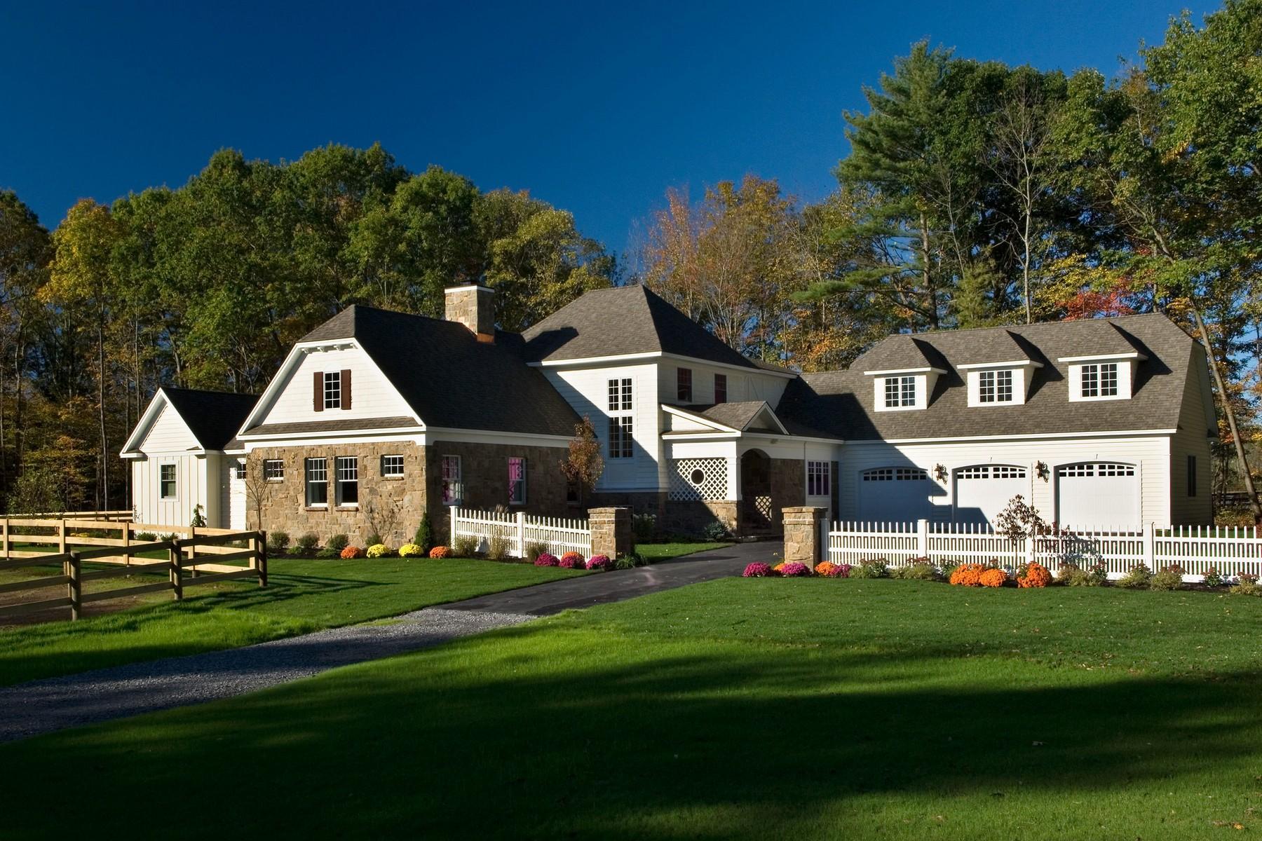 Anderer Wohnungstyp für Verkauf beim The Saratoga Farm-Equestrian New Construction Lot 4 Saratoga Farm Rd Malta, New York 12020 Vereinigte Staaten