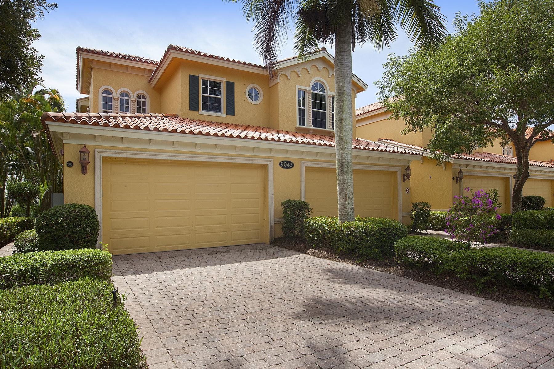 Condominio per Vendita alle ore FIDDLER'S CREEK - CASCADA 9042 Cascada Way 201 Naples, Florida, 34114 Stati Uniti