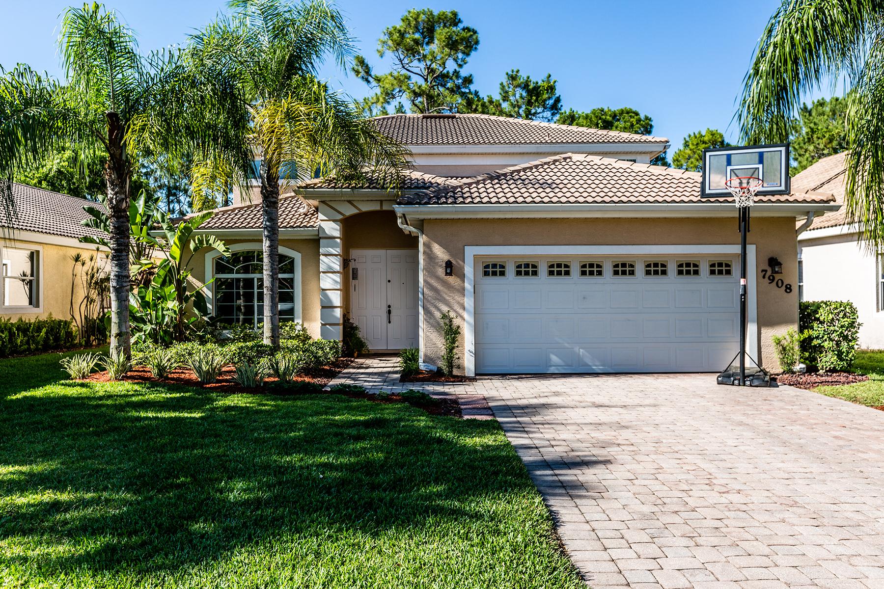 独户住宅 为 销售 在 The Shores 7908 Leicester Dr 那不勒斯, 佛罗里达州, 34104 美国
