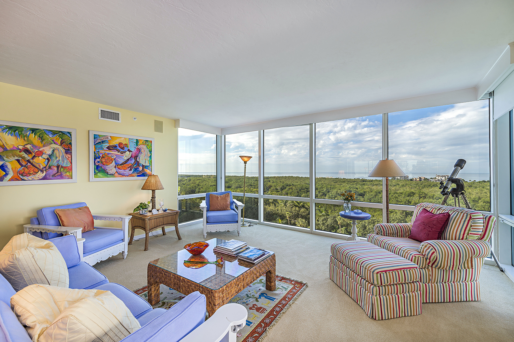 Condominium for Sale at PELICAN BAY - CLARIDGE 7515 Pelican Bay Blvd 9D Naples, Florida 34108 United States