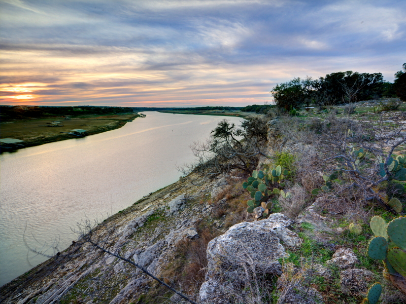 Terreno per Vendita alle ore 171 Acre Waterfront Ranch 171 Acres Travis Peak- Lake Travis Marble Falls, Texas 78654 Stati Uniti