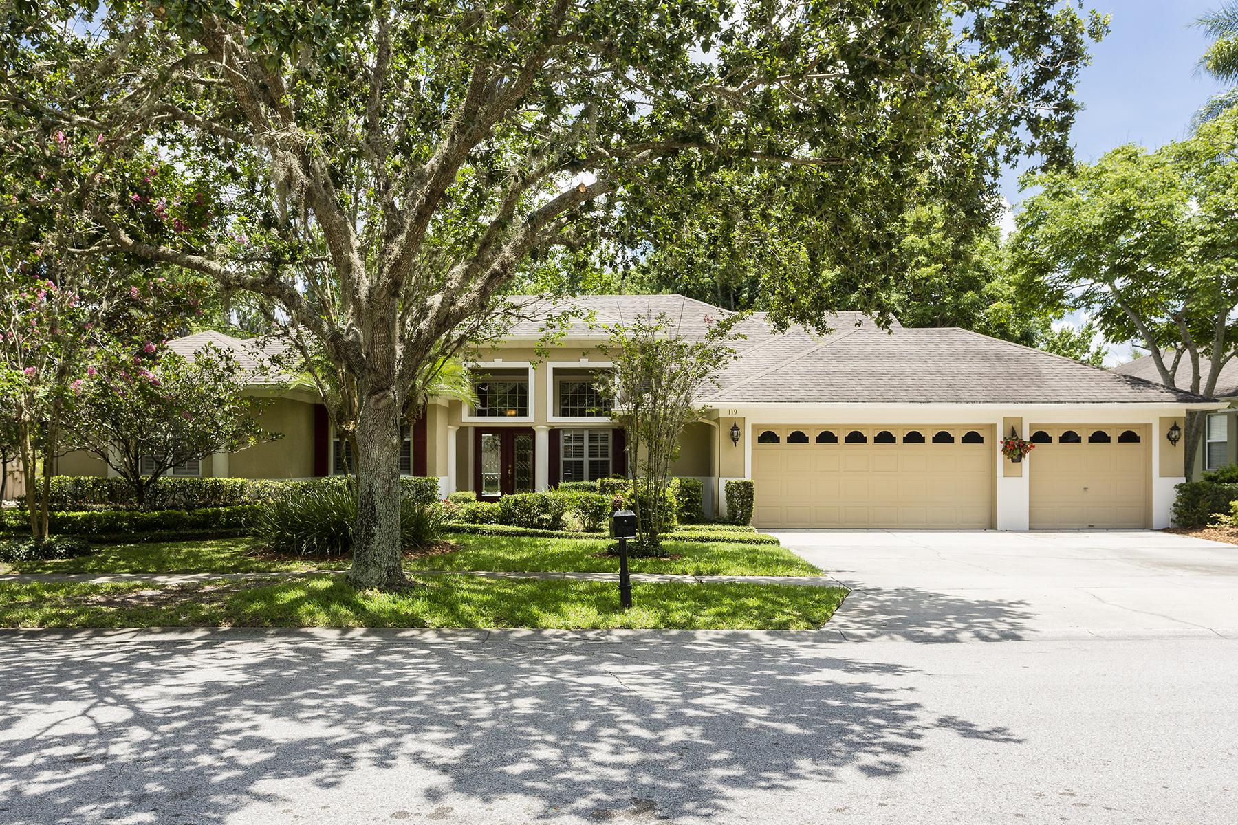 Vivienda unifamiliar por un Venta en ORLANDO - WINTER SPRINGS 119 Nandina Terr Winter Springs, Florida, 32708 Estados Unidos