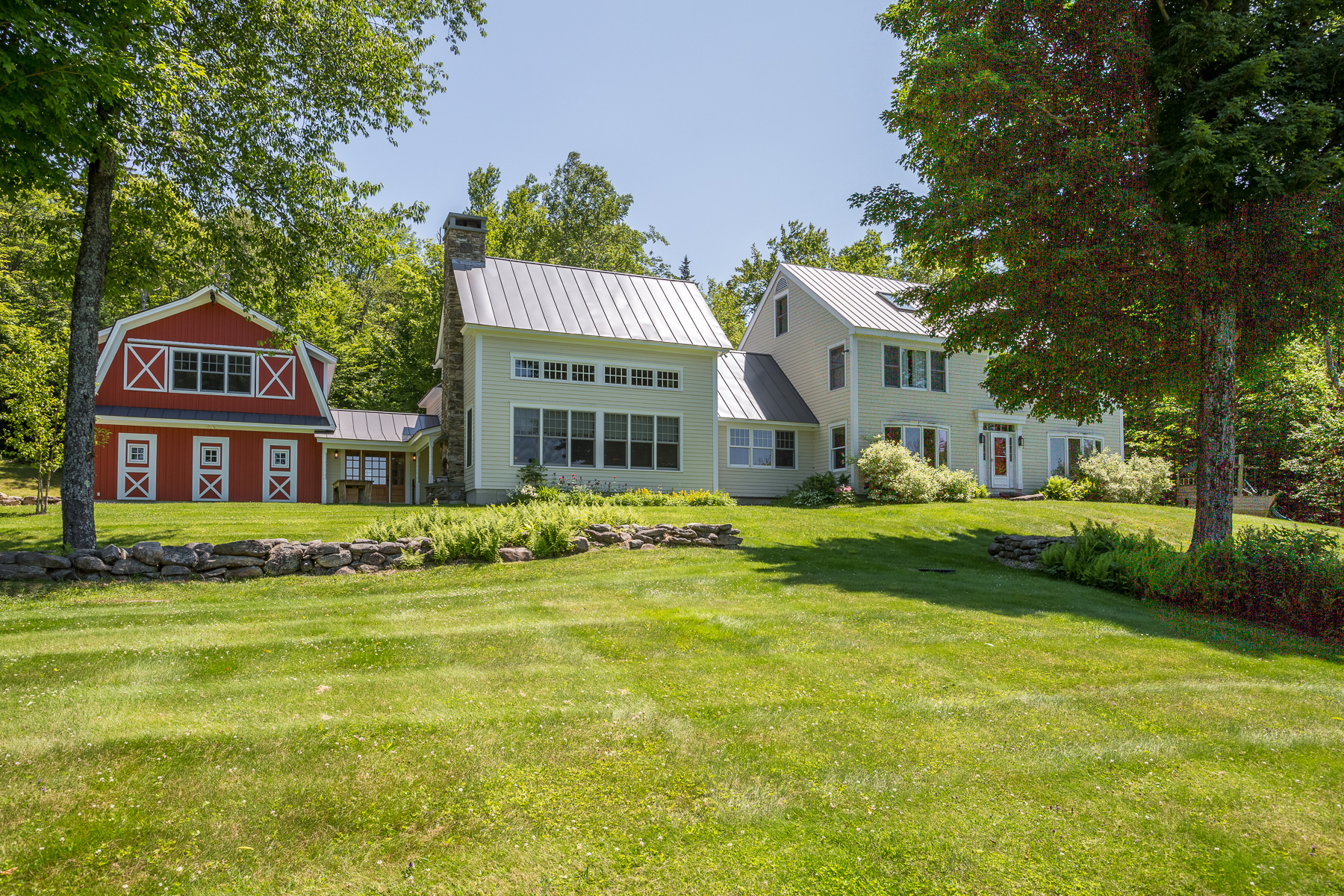 Single Family Home for Sale at High Meadow - A Private Vermont Estate 444 Tin Shanty Rd Shrewsbury, Vermont, 05738 United States