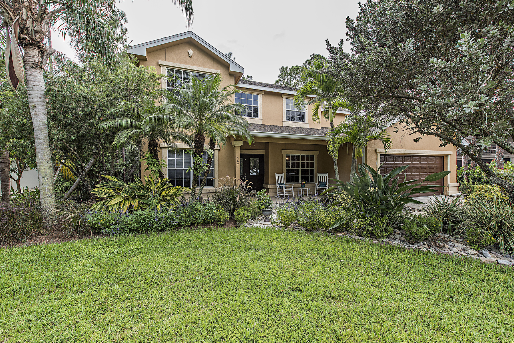 Single Family Home for Sale at TALL PINES 5891 Waxmyrtle Way Naples, Florida, 34109 United States