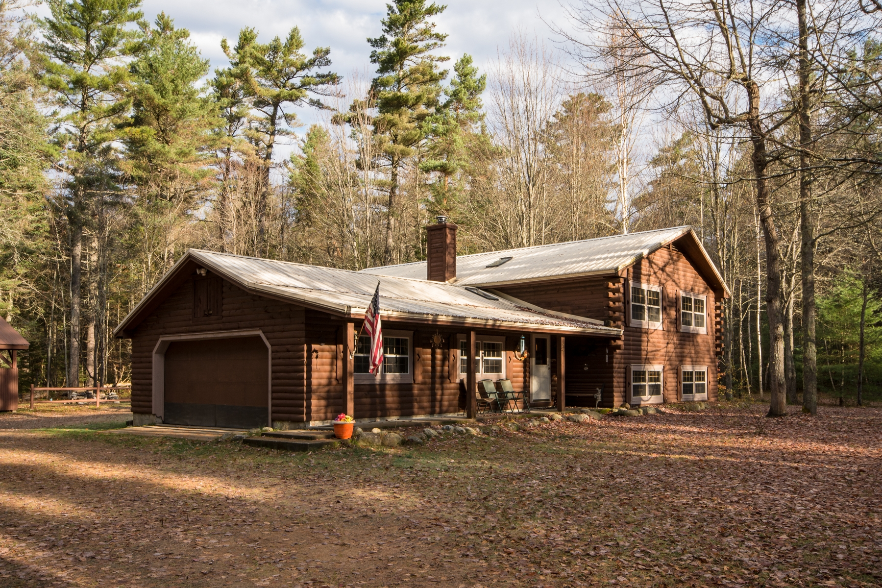 Single Family Home for Sale at Spacious Quiet Water Access Home 22 Bay Ln Rainbow Lake, New York 12976 United States