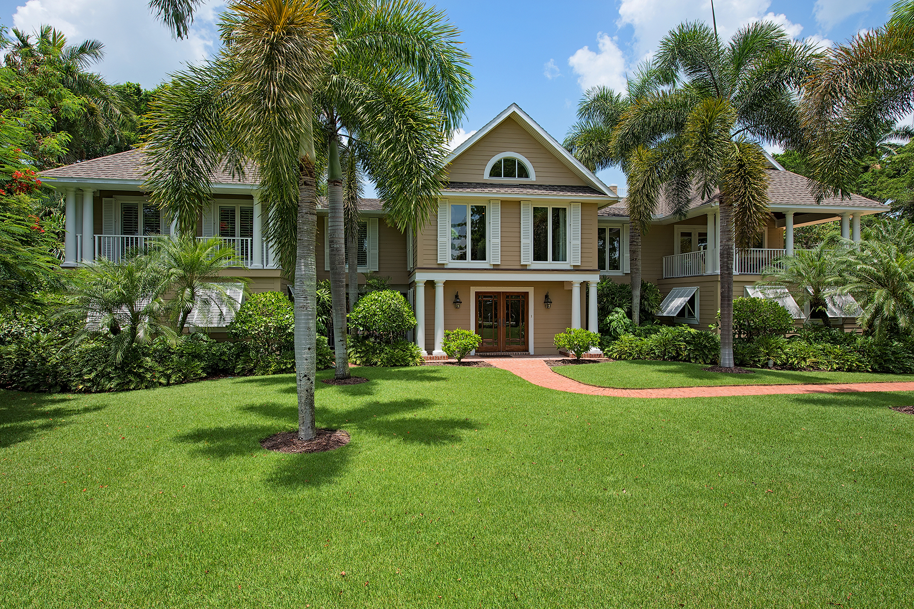Casa Unifamiliar por un Venta en PORT ROYAL 2670 Treasure Ln Naples, Florida 34102 Estados Unidos