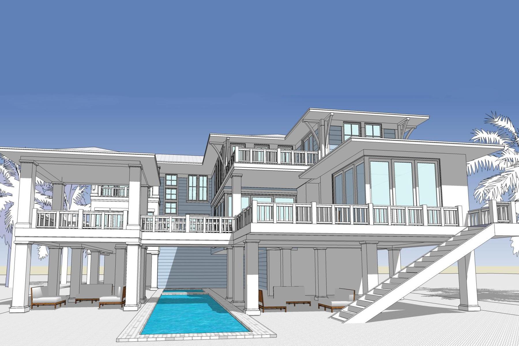 단독 가정 주택 용 매매 에 BAY ISLES 3344 Gulfmead Dr Sarasota, 플로리다 34242 미국