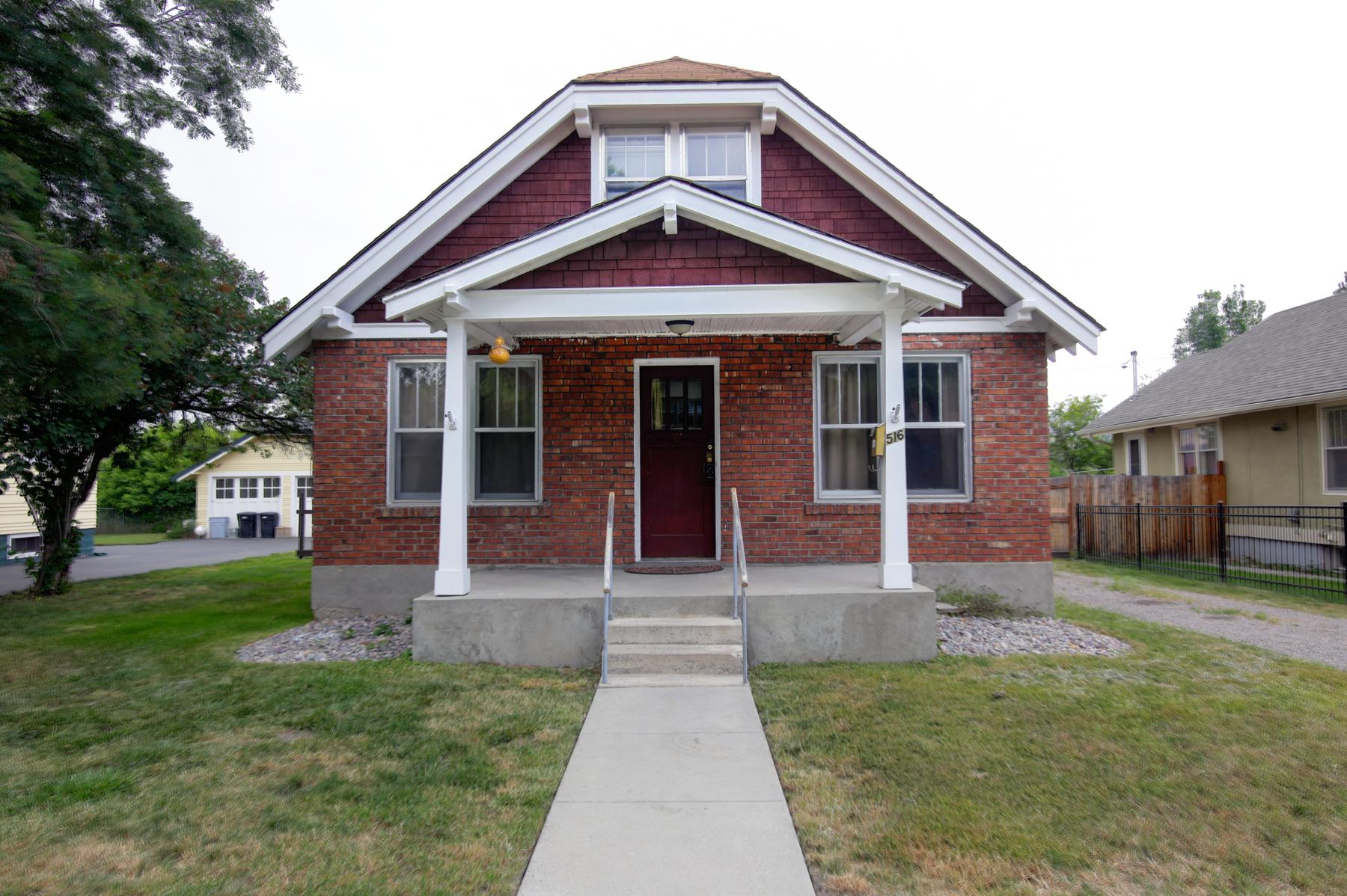 Casa para uma família para Venda às 516 S 5th St E 516 S 5th St E Missoula, Montana, 59801 Estados Unidos