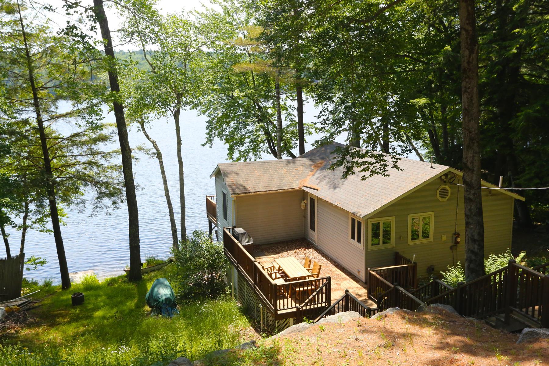 Maison unifamiliale pour l Vente à 41 North Shore Road, Sunapee 41 North Shore Rd Sunapee, New Hampshire, 03782 États-Unis