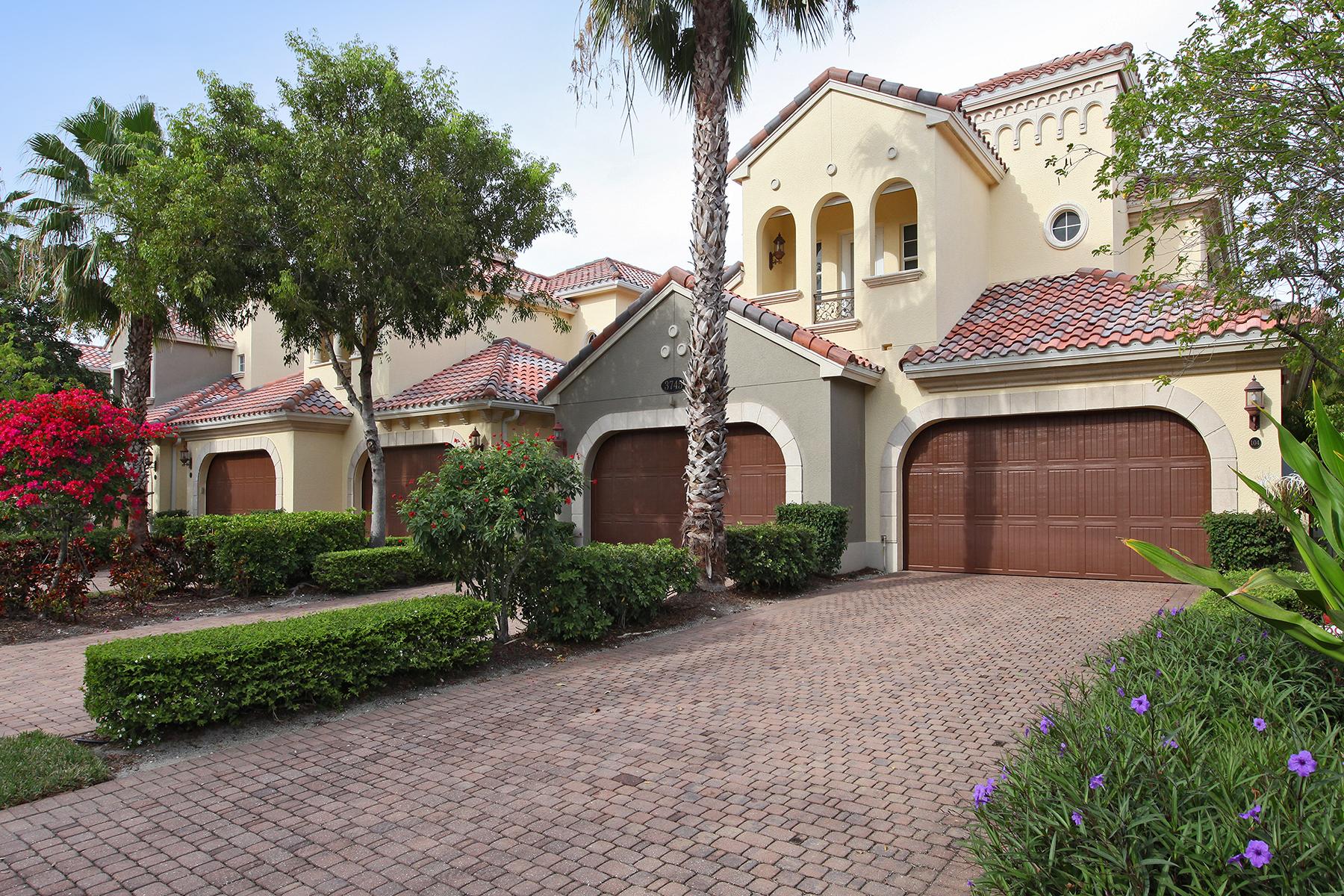 Condomínio para Venda às FIDDLER'S CREEK - MONTREUX 3745 Montreux Ln 104 Naples, Florida 34114 Estados Unidos