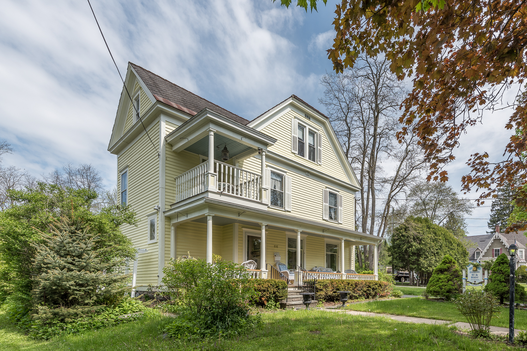 Single Family Home for Sale at Victorian Gem in the Heart of Cooperstown 88 Chestnut St Cooperstown, 13326 United States