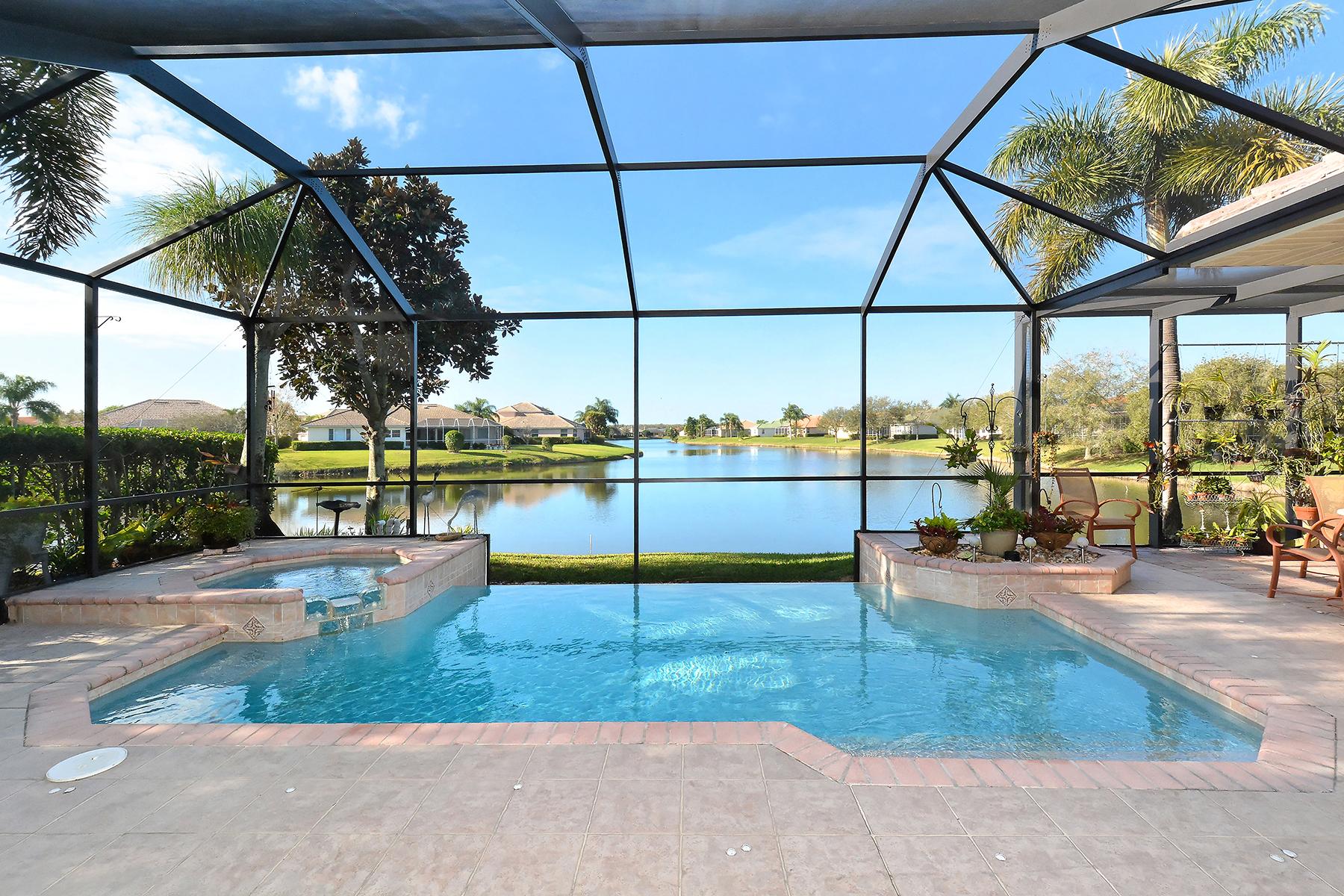 Maison unifamiliale pour l Vente à LAUREL LAKES 8241 Barton Farms Blvd Sarasota, Florida, 34240 États-Unis