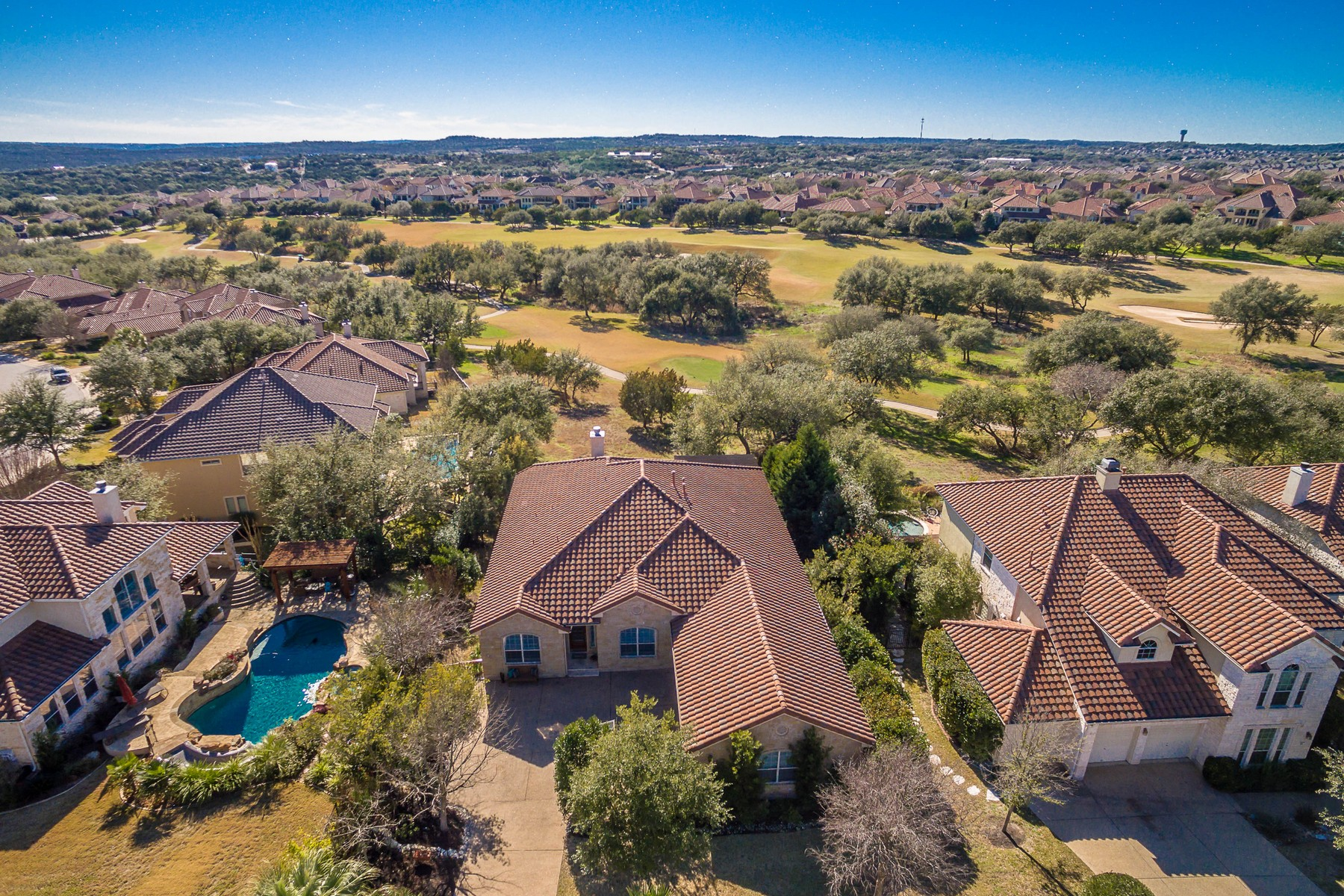 Single Family Home for Sale at Lake Travis Elegance 15912 Spillman Ranch Loop Austin, Texas 78738 United States