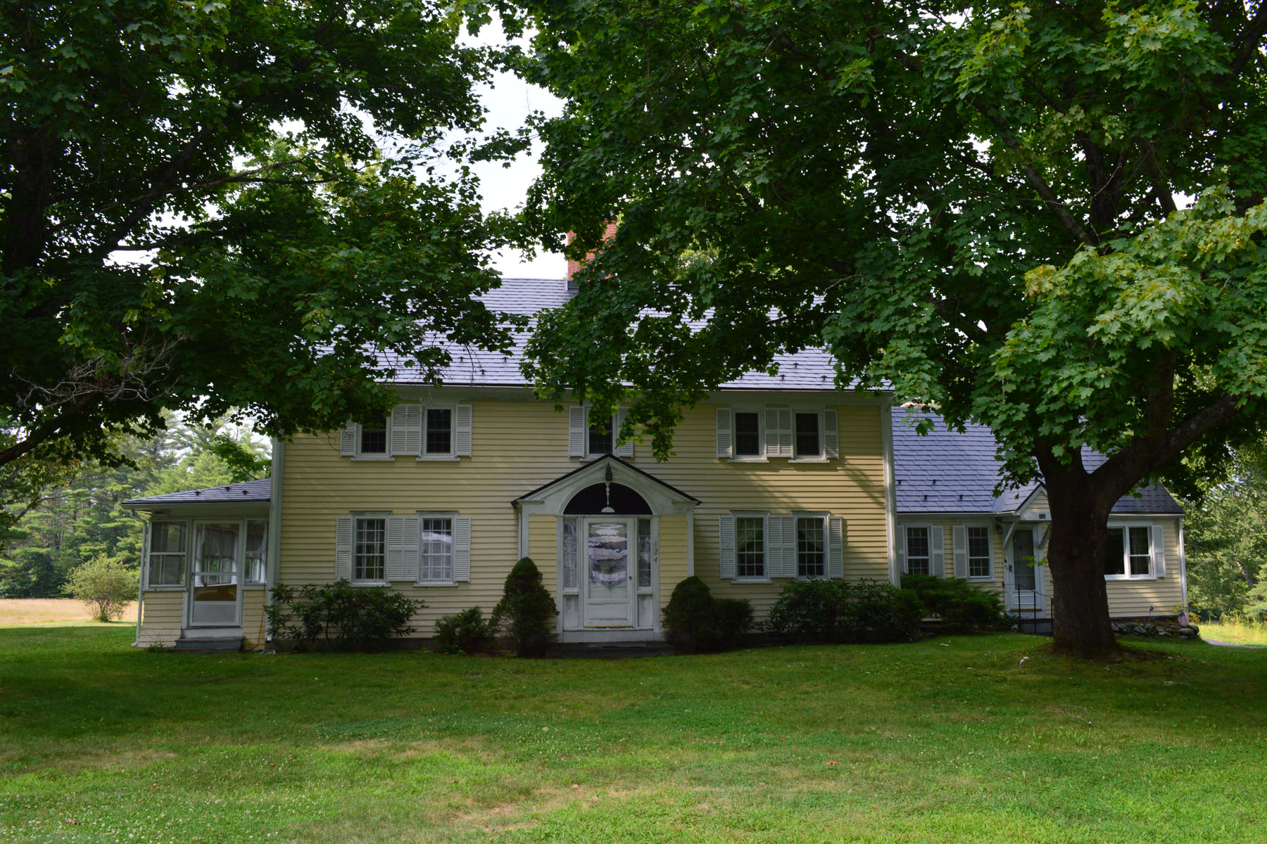 Single Family Home for Sale at 124 Governors Road, Brookfield 124 Governors Rd Brookfield, New Hampshire, 03872 United States