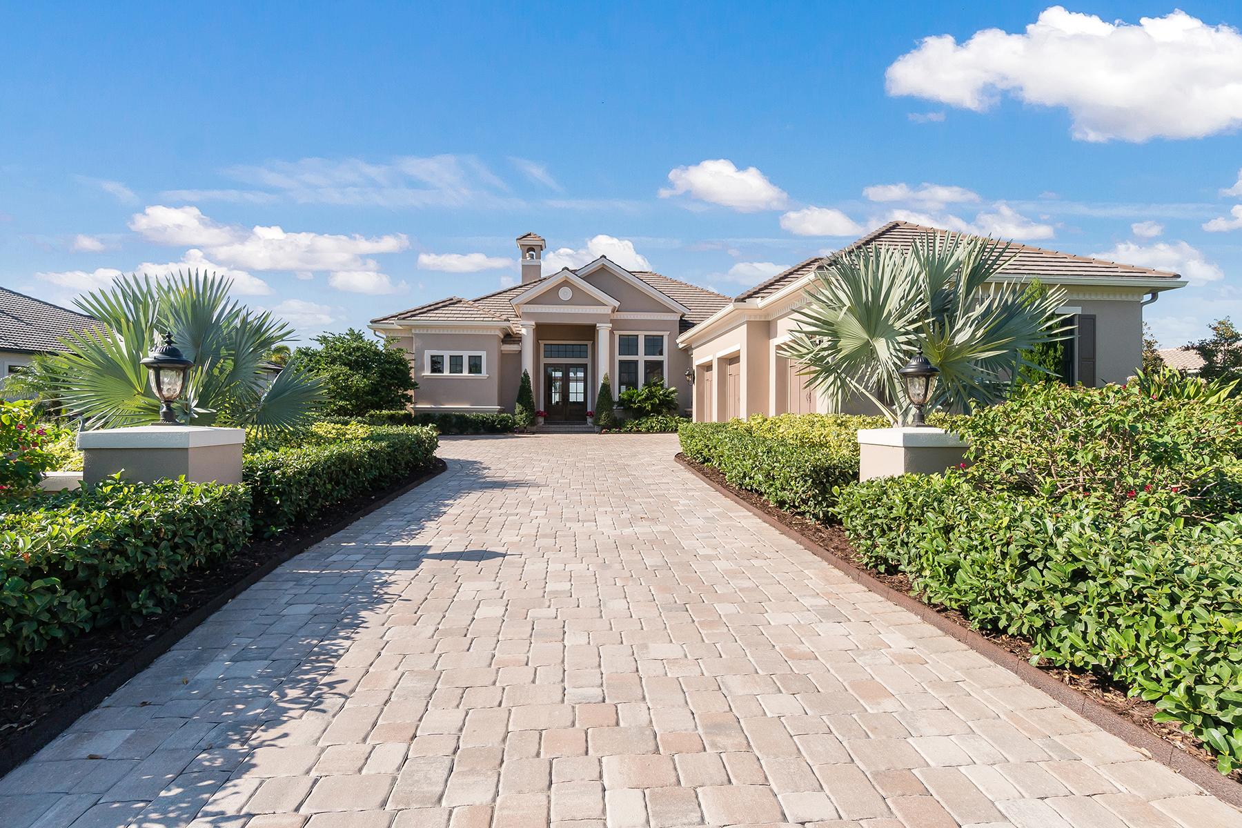 Tek Ailelik Ev için Satış at THE LAKE CLUB 16318 Daysailor Trl Lakewood Ranch, Florida, 34202 Amerika Birleşik Devletleri