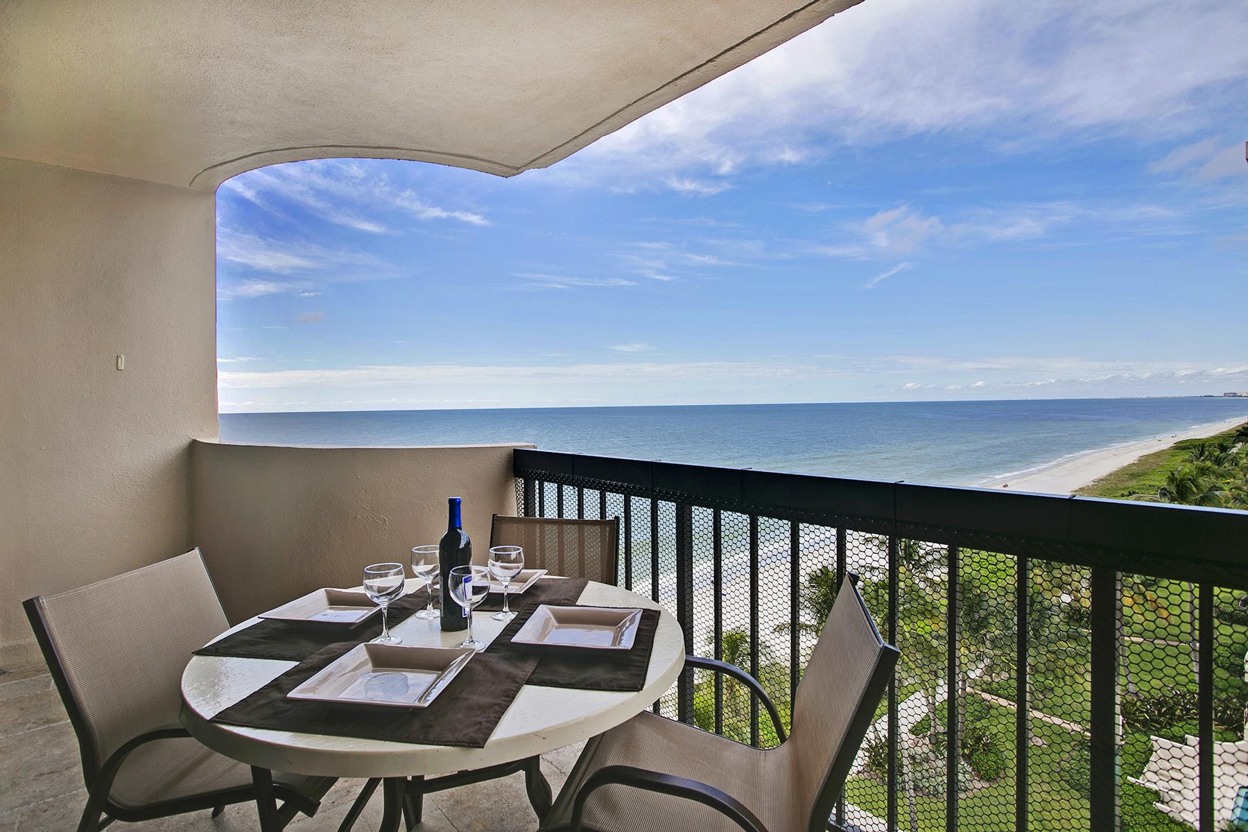 Copropriété pour l Vente à PARK SHORE - SURFS EDGE 4001 Gulf Shore Blvd N 806 Naples, Florida 34103 États-Unis