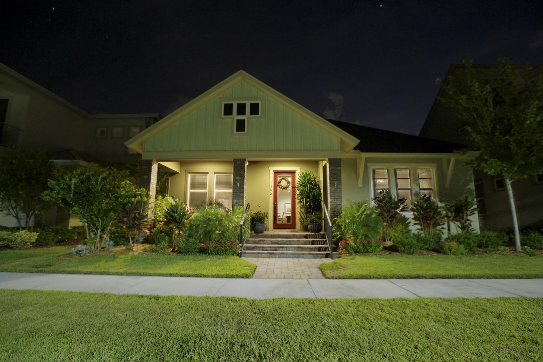 Single Family Home for Sale at LAKE NONA 13674 Briand Ave Orlando, Florida, 32827 United States