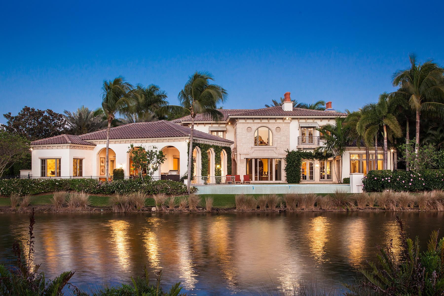 Maison unifamiliale pour l Vente à 1395 Great Egret Trl , Naples, FL 34105 1395 Great Egret Trl Naples, Florida, 34105 États-Unis