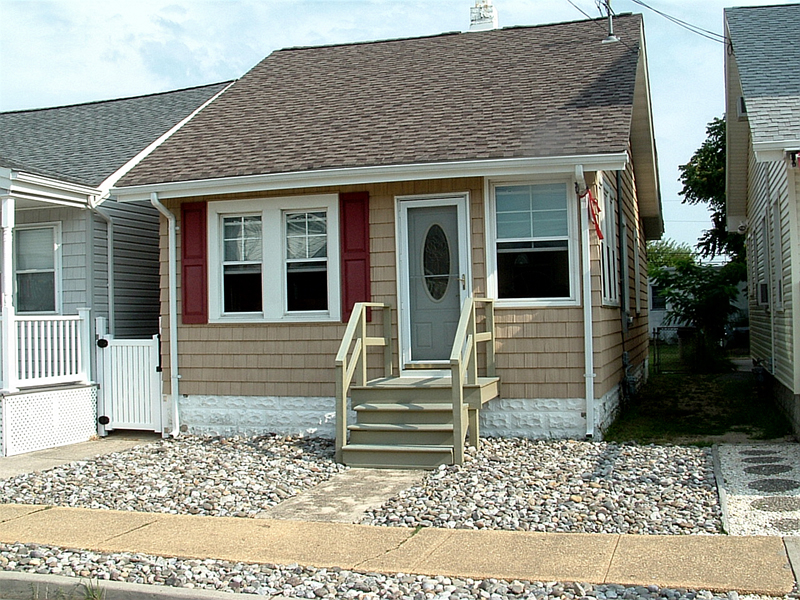 Single Family Home for Sale at Completely Remodeled Cape 210 Dupont Avenue Seaside Heights, 08751 United States