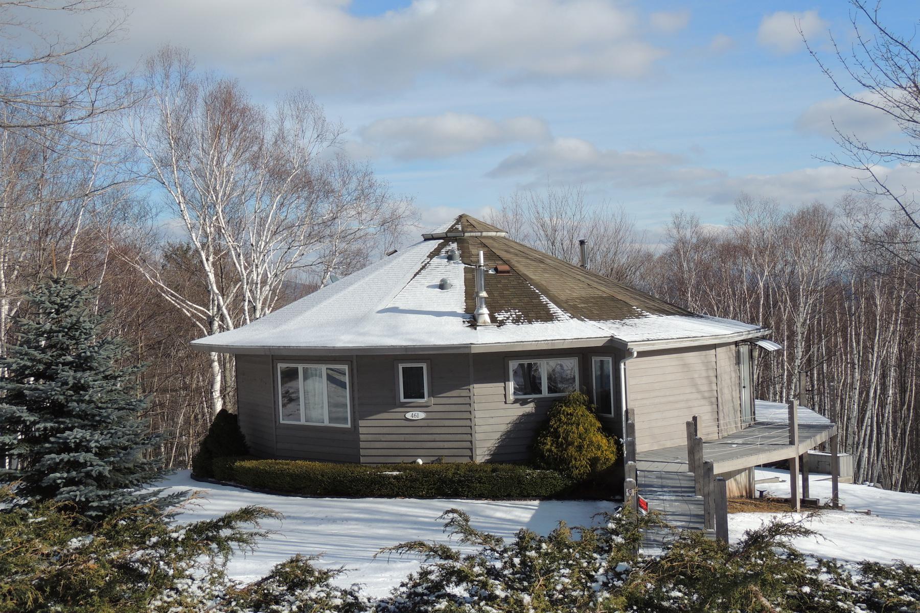 其它住宅 为 销售 在 Round House with Catskill Mountain Views 461 Beshroner Rd Prattsville, 纽约州 12468 美国