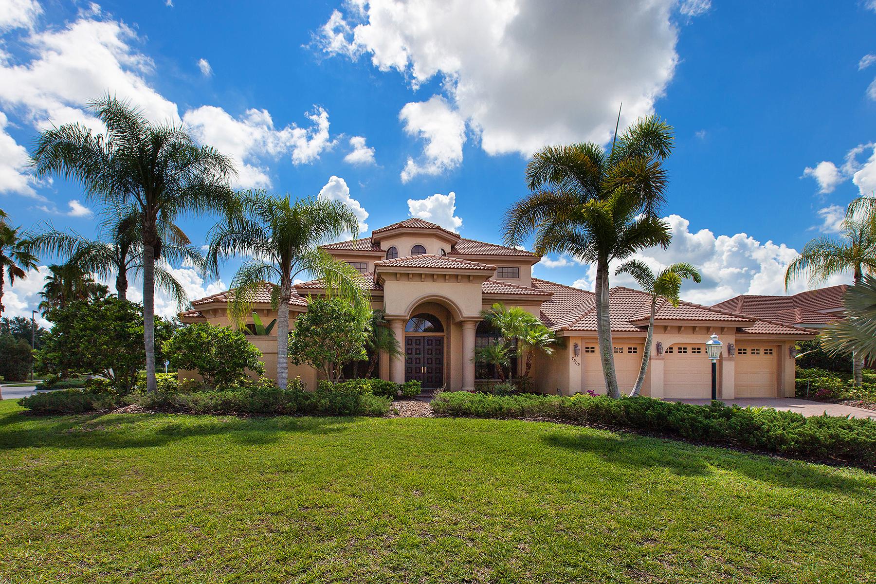 Casa para uma família para Venda às LAKEWOOD RANCH COUNTRY CLUB 7505 Rigby Ct Lakewood Ranch, Florida 34202 Estados Unidos