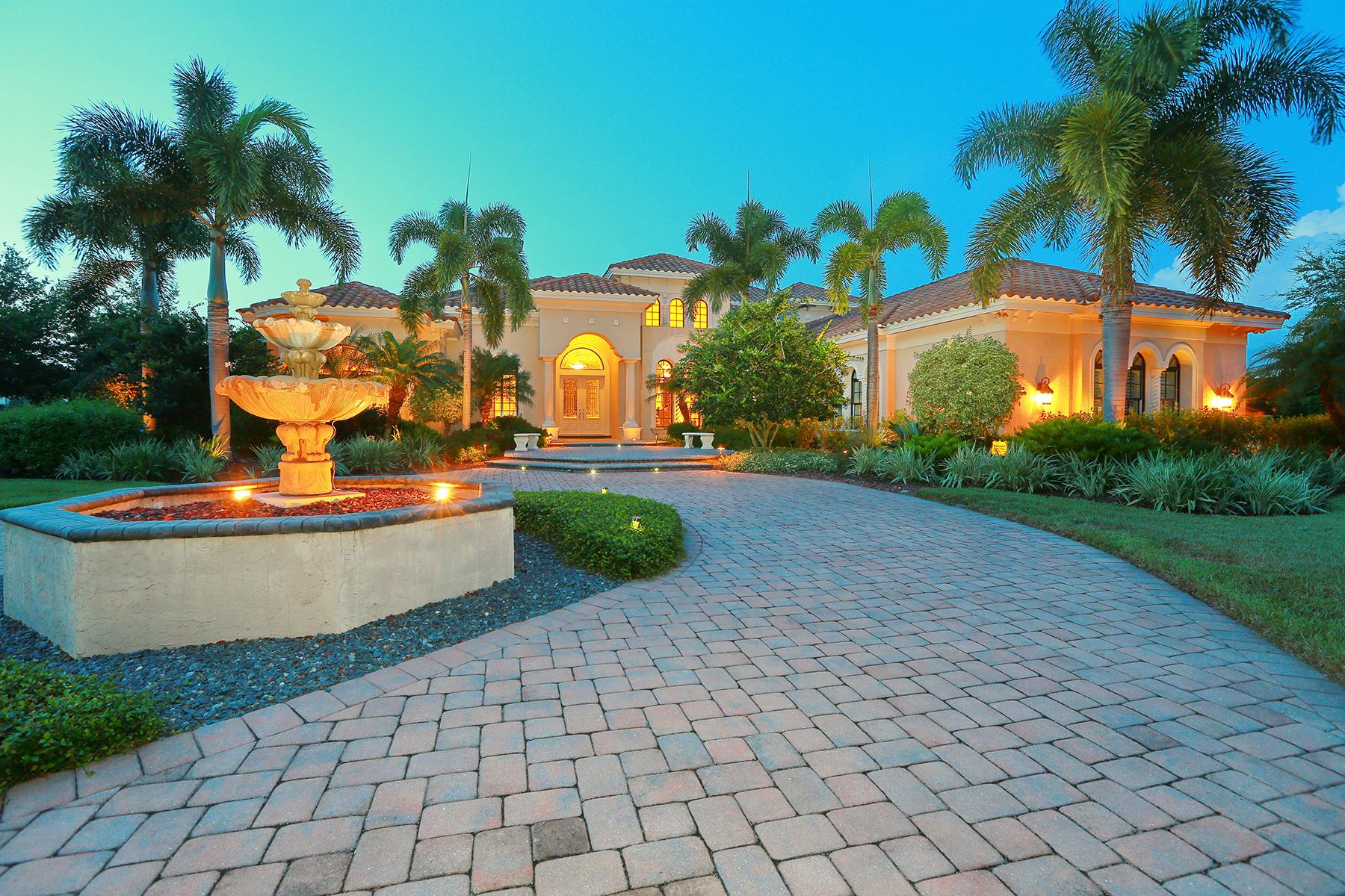 独户住宅 为 销售 在 FOUNDERS CLUB 8254 Roseburn Ct 萨拉索塔, 佛罗里达州, 34240 美国