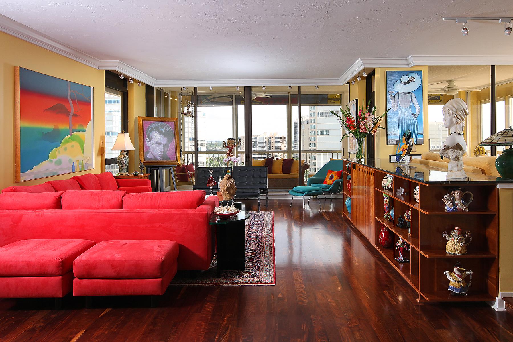 Condomínio para Venda às PARK SHORE - PARK PLAZA 4301 Gulf Shore Blvd N 1204 Naples, Florida 34103 Estados Unidos