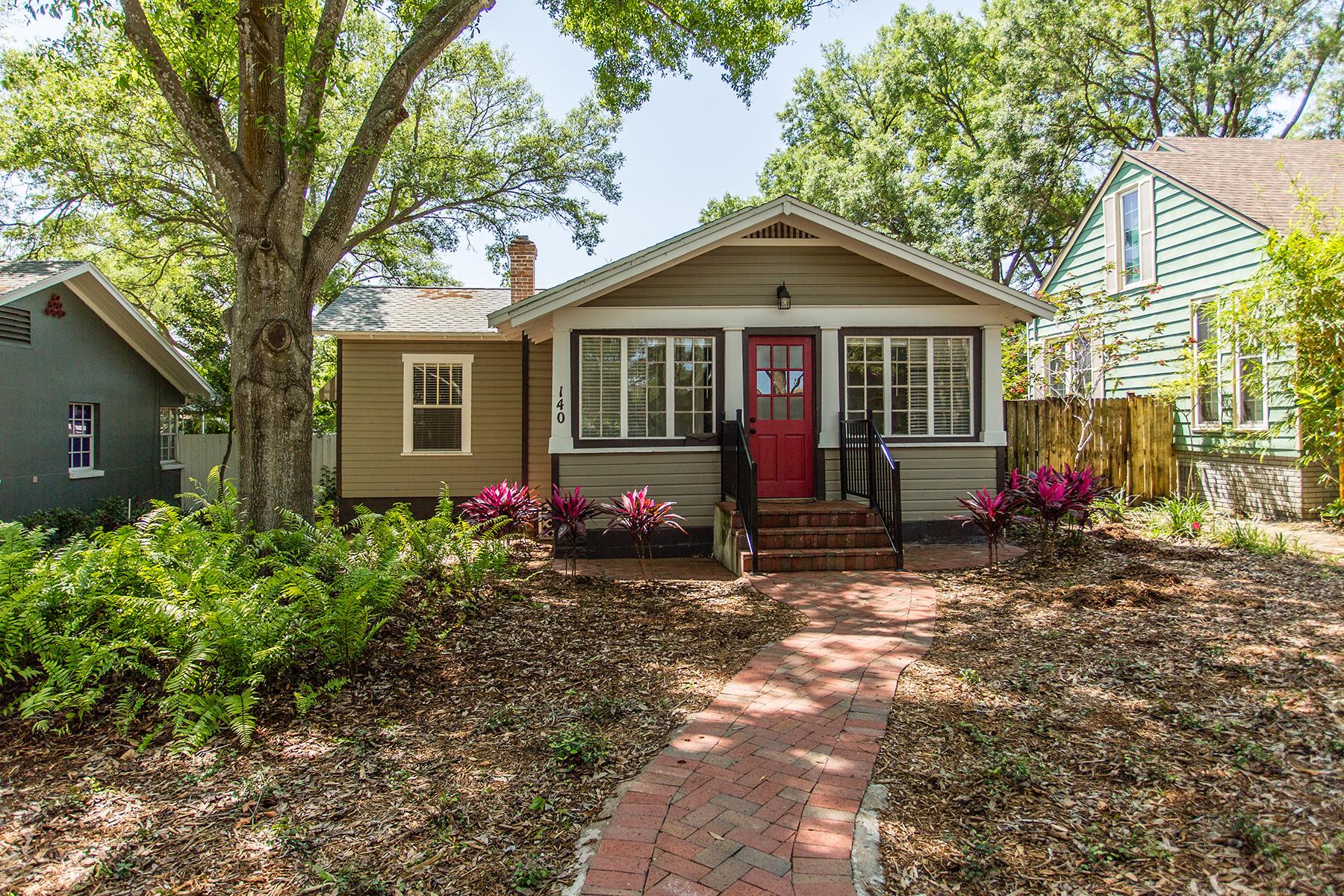 獨棟家庭住宅 為 出售 在 OLD NORTHEAST 140 23rd Ave N St. Petersburg, 佛羅里達州, 33704 美國