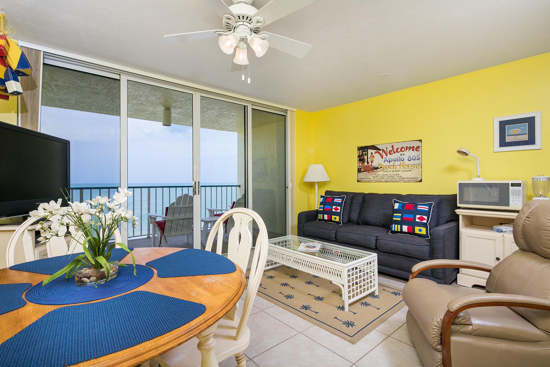 Piso por un Venta en MARCO ISLAND - APOLLO 900 S Collier Blvd 805 Marco Island, Florida 34145 Estados Unidos